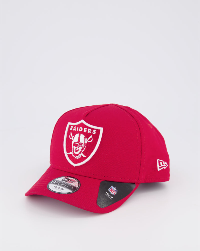 TODDLERS OAKLAND RAIDERS 9FORTY A-FRAME - SCARLET RED