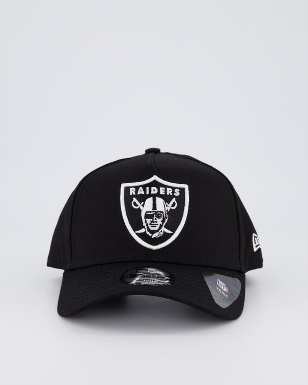 YOUTH OAKLAND RAIDERS 9FORTY A-FRAME - BLACK