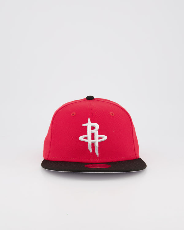 YOUTH HOUSTON ROCKETS 9FIFTY SNAPBACK - BLACK/RED