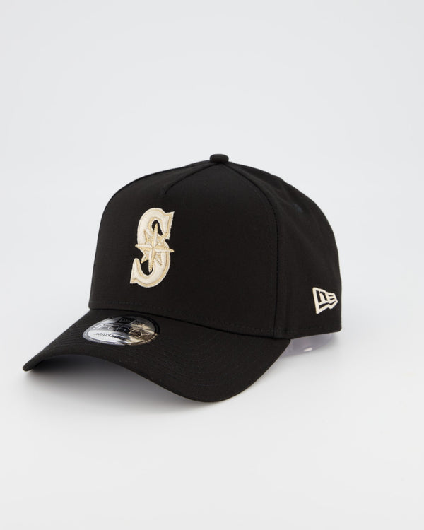 SEATTLE MARINERS 9FORTY A-FRAME - BLACK TAN/STONE