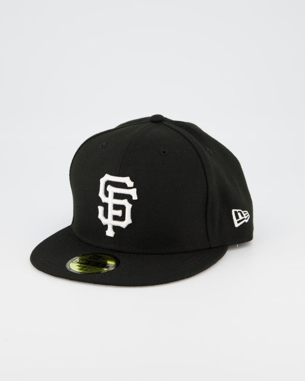 San Francisco Giants 59FIFTY Fitted Cap - Black/White