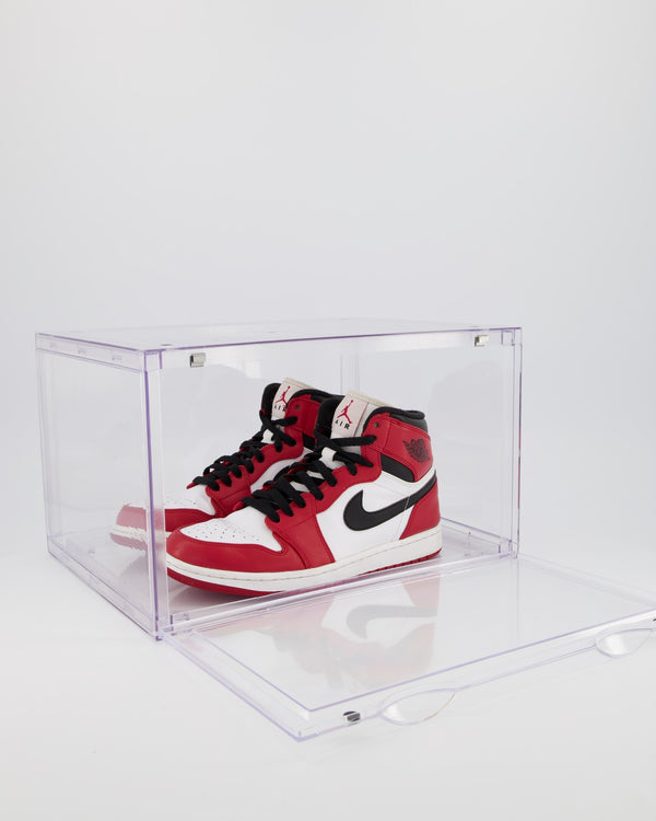 CT SNEAKER BOX SIDE DROP DISPLAY (2 BOXES) - ALL CLEAR ACRYLIC