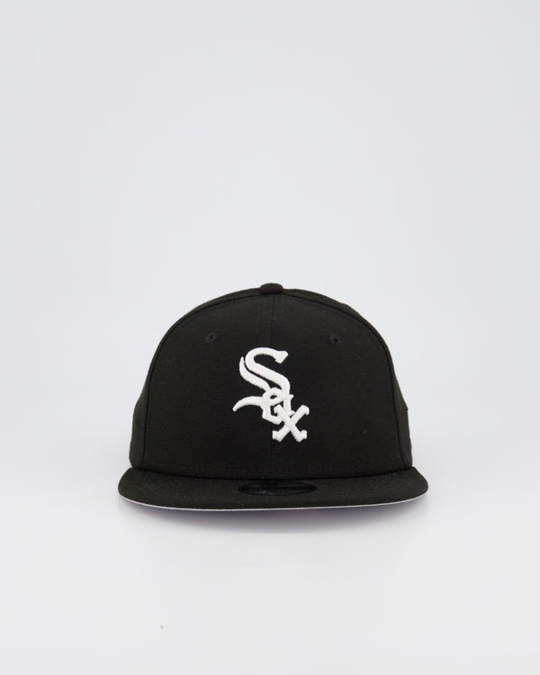 YOUTH CHICAGO WHITE SOX 9FIFTY SNAPBACK - BLACK/WHITE