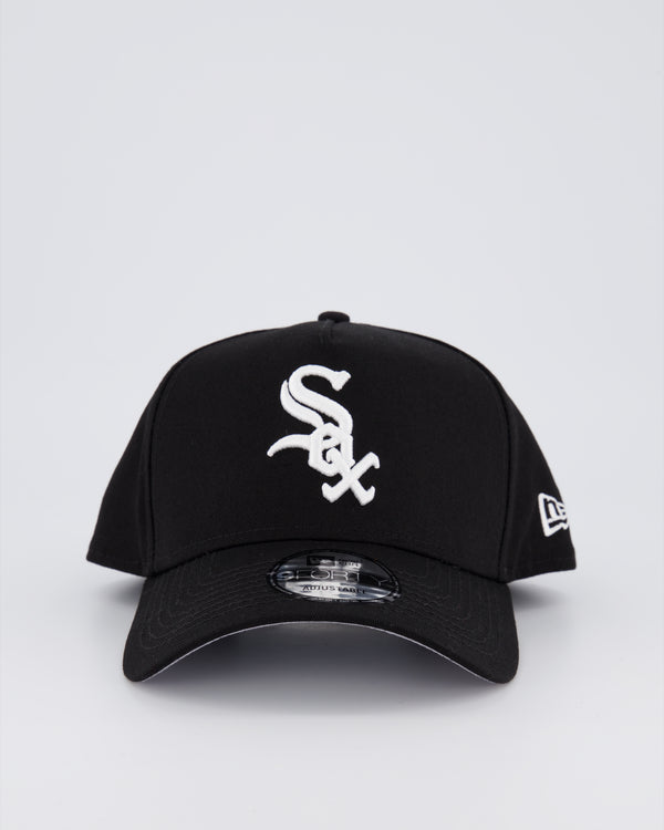 CHICAGO WHITE SOX 9FORTY A-FRAME - BLACK/Black Under Brim
