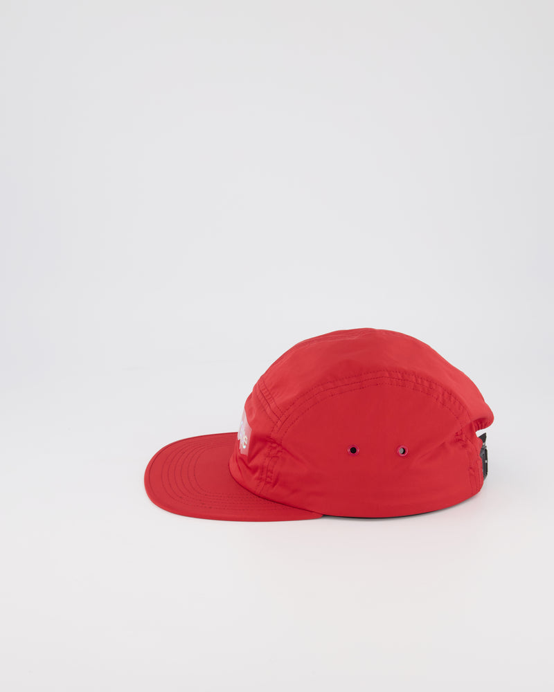 SUPREME 5 PANEL CAMPER HAT - RED