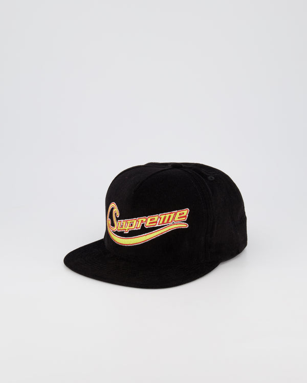SUPREME HEADWEAR - BLACK/YELLOW