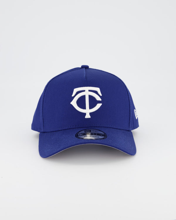 MINNESOTA TWINS 9FORTY A-FRAME - ROYAL/GREY UNDERVISOR