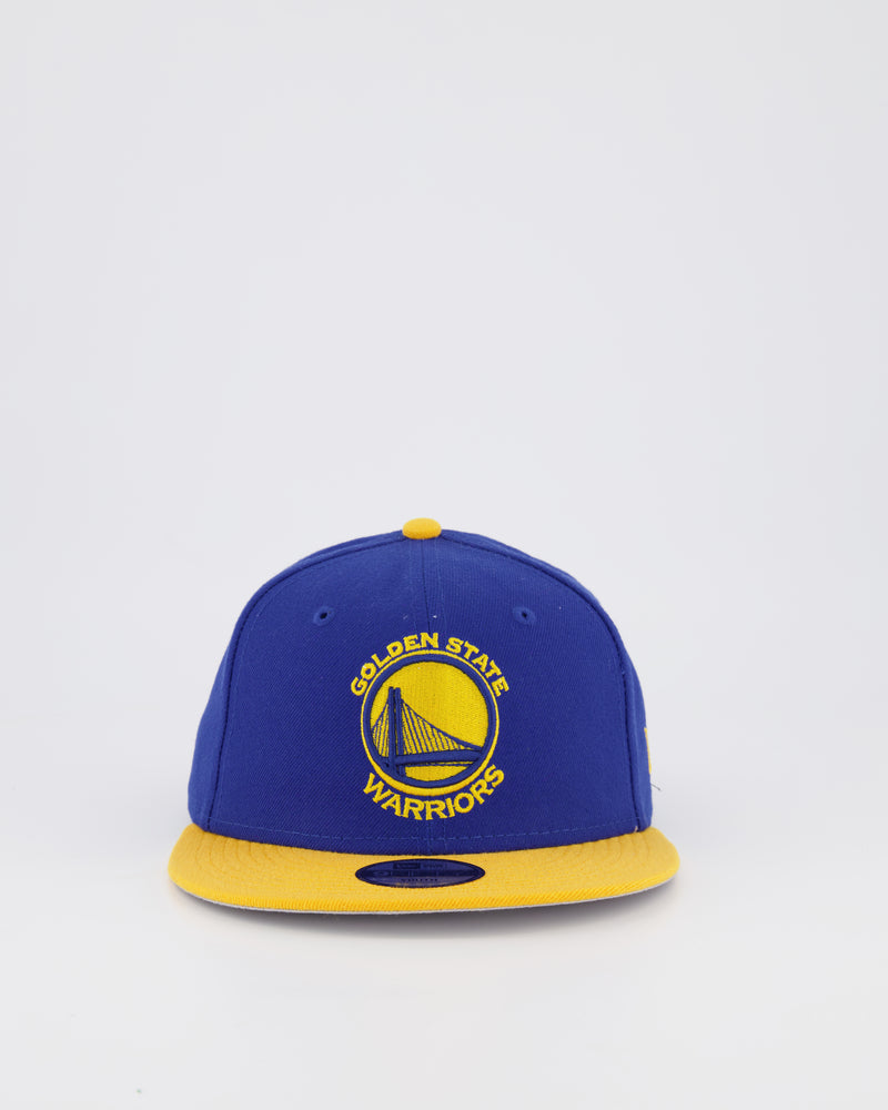GOLDEN STATE WARRIORS 9FIFTY SNAPBACK - ROYAL/YELLOW