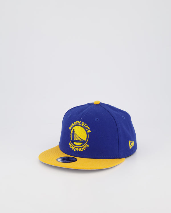 YOUTH GOLDEN STATE WARRIORS 9FIFTY SNAPBACK - ROYAL/YELLOW