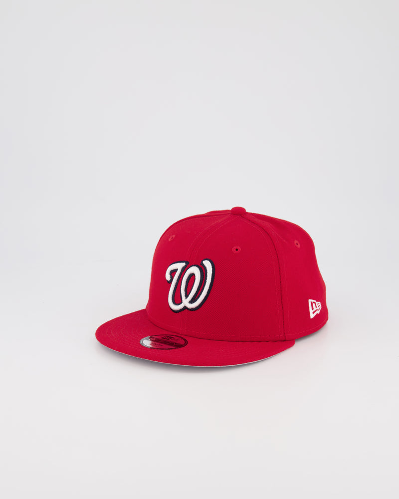 YOUTH WASHINGTON NATIONALS 9FIFTY SNAPBACK - SCARLET RED