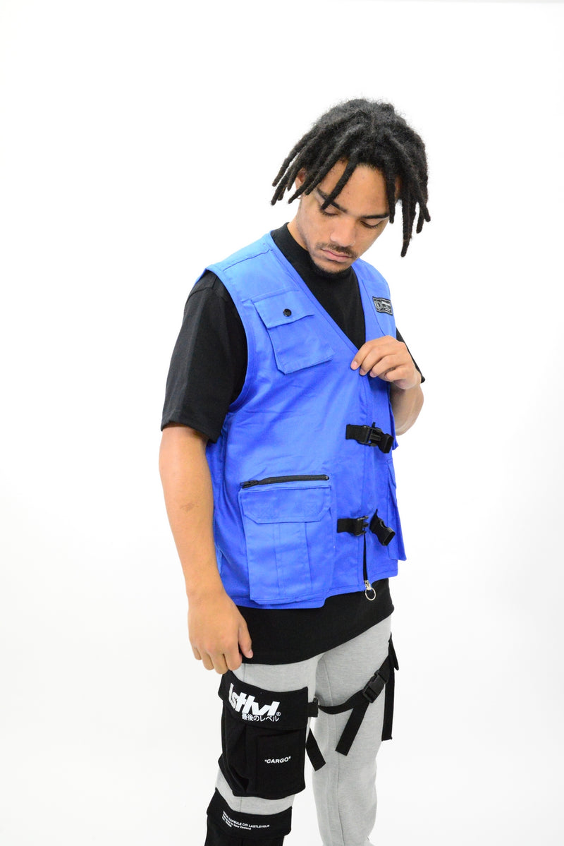 PLAIN TACTICAL VEST - ROYAL