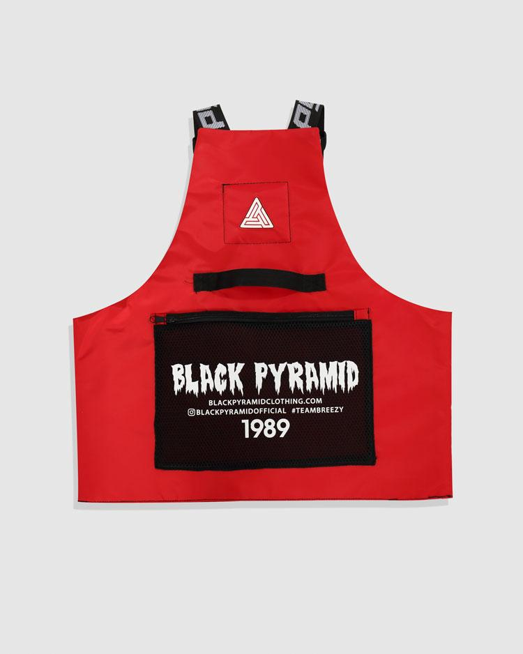 BLACK PYRAMID SPLINTER VEST - RED