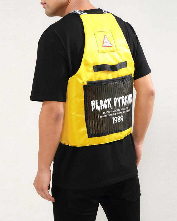 BLACK PYRAMID SPLINTER VEST - YELLOW