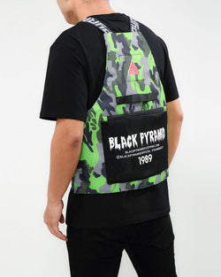 BLACK PYRAMID SPLINTER VEST - GREEN CAMO