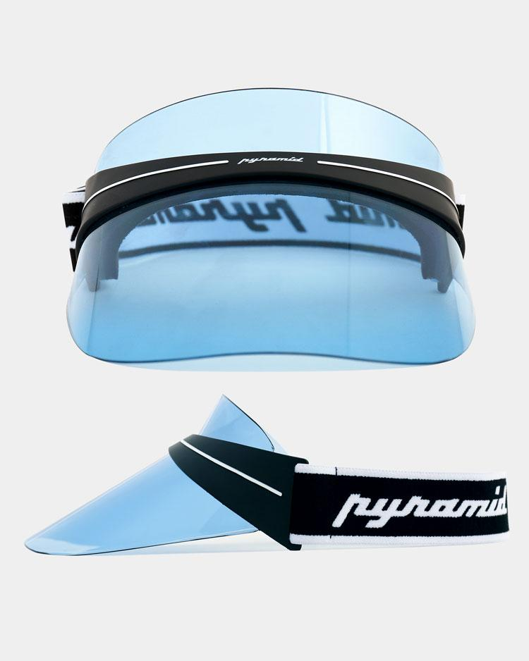 BLACK PYRAMID FUTURE VISOR - BLUE
