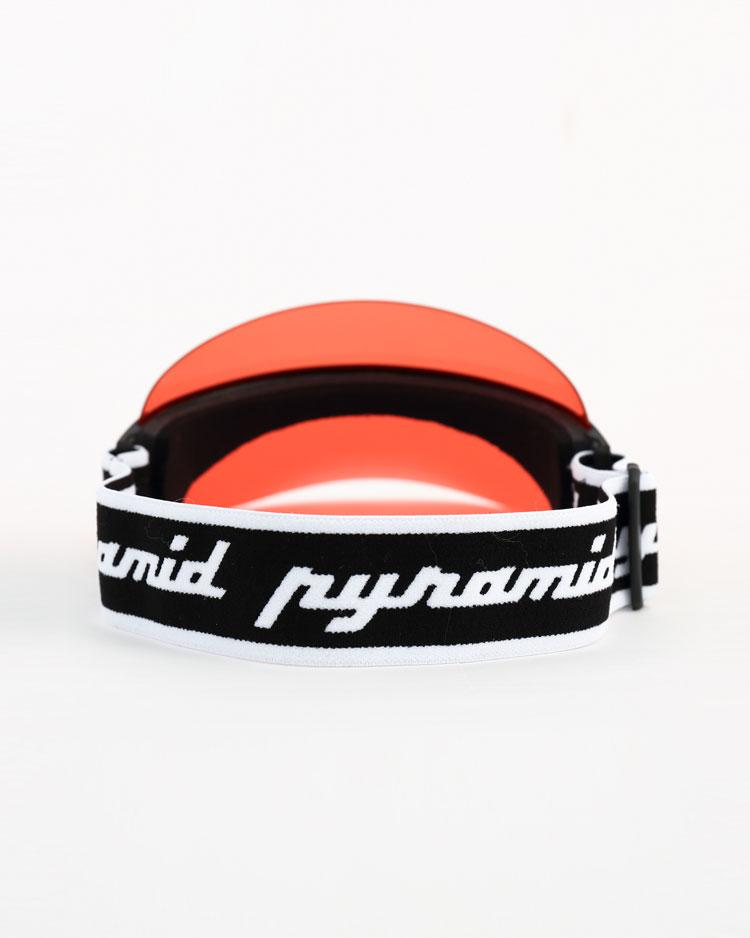 BLACK PYRAMID FUTURE VISOR - RED