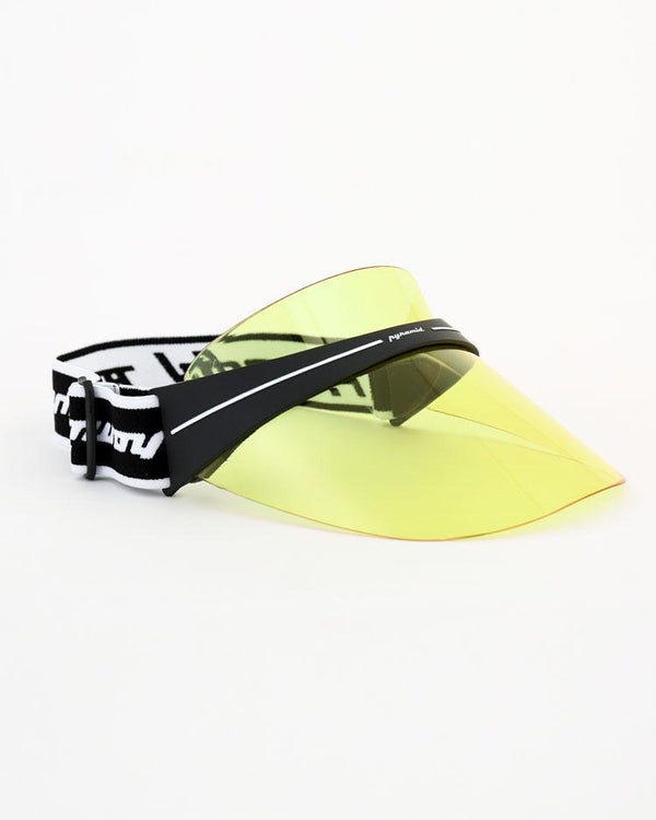 BLACK PYRAMID FUTURE VISOR - YELLOW