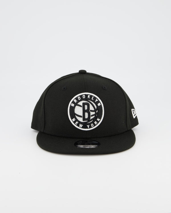 YOUTH BROOKLYN NETS 9FIFTY SNAPBACK - BLACK
