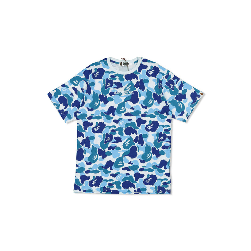 BAPE ALL OVER BLUE CAMO TEE - L