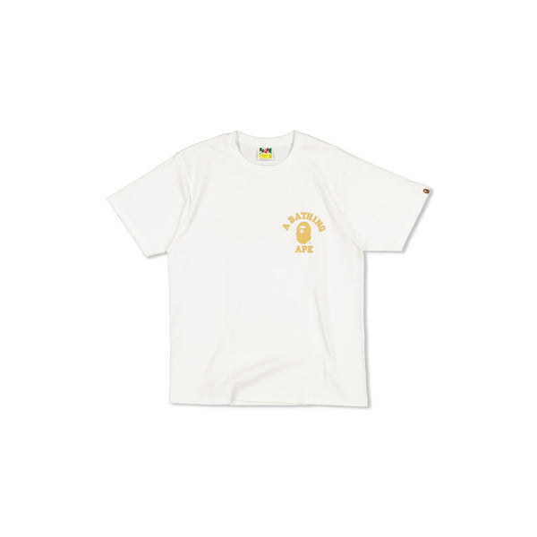 BAPE APES TOGETHER STRONG 1ST CAMO TEE - WHITE