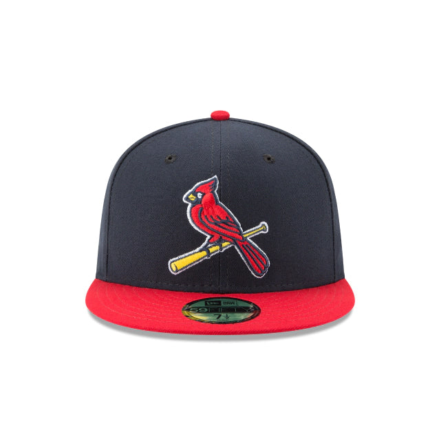 St. Louis Cardinals Authentic Collection 59FIFTY Fitted - Alt Navy/Red