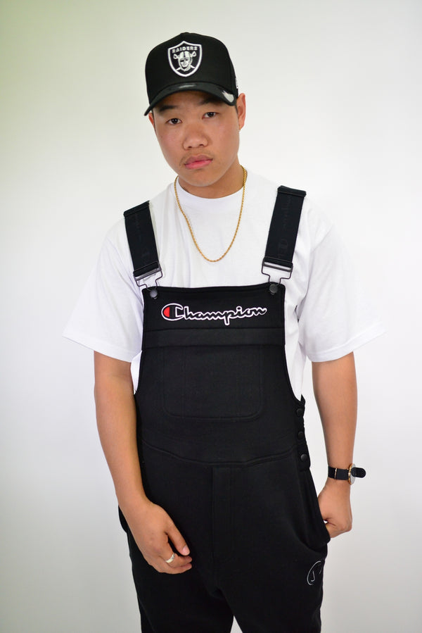 SUPER FLEECE 3.0 OVERALLS - BLACK
