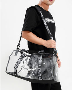 BLACK PYRAMID CLEAR DUFFEL BAG