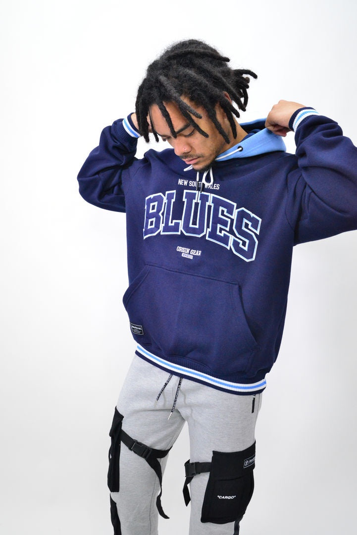 NSW BLUES VARSITY HOODY