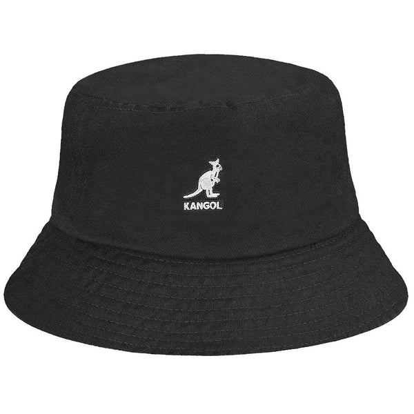 WASHED BUCKET HAT - BLACK