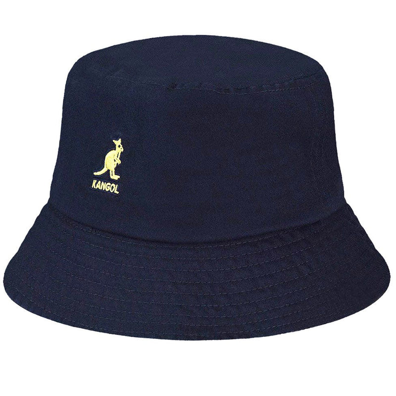 WASHED BUCKET HAT - NAVY