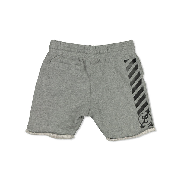 NEON CAPSULE KIDS TRACK SHORTS - GREY
