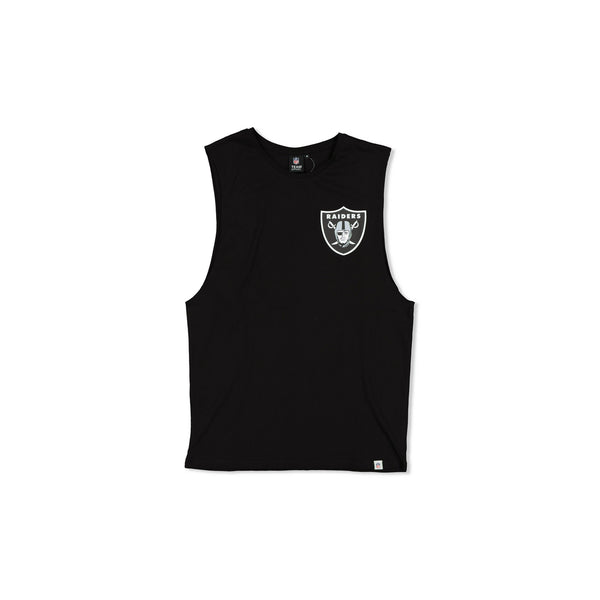 MAJESTIC RAIDERS YISSER MUSCLE - BLACK