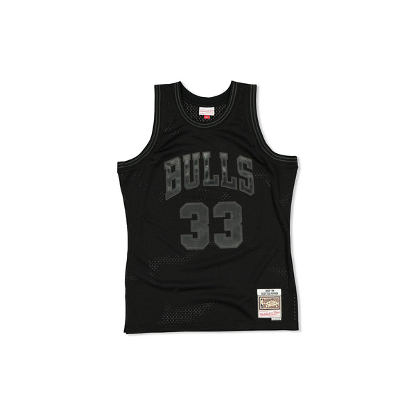 SWINGMAN JERSEY CHICAGO BULLS SCOTTIE PIPPEN - BLACK TONAL