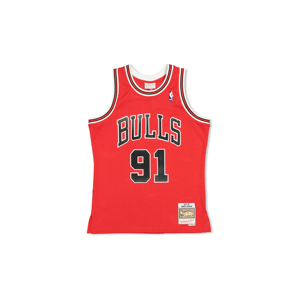 SWINGMAN JERSEY CHICAGO BULLS RODMAN - RED