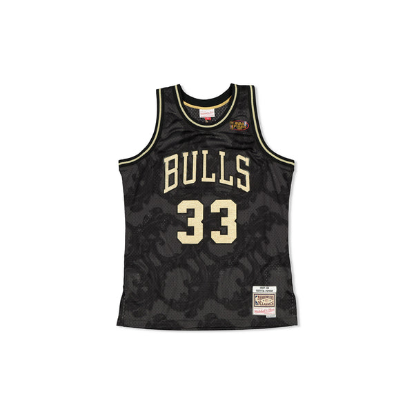 SWINGMAN JERSEY CHICAGO BULLS SCOTTIE PIPPEN - GOLD TOILE