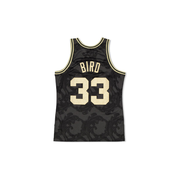 SWINGMAN JERSEY BOSTON CELTICS LARRY BIRD - GOLD TOILE