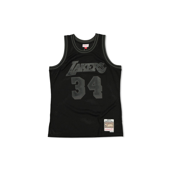 SWINGMAN JERSEY LOS ANGELES LAKERS SHAQUILLE O'NEAL - BLACK TONAL