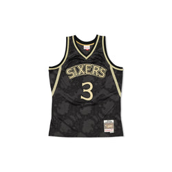 SWINGMAN JERSEY PHILADELPHIA 76ERS ALLEN IVERSION - GOLD TOILE