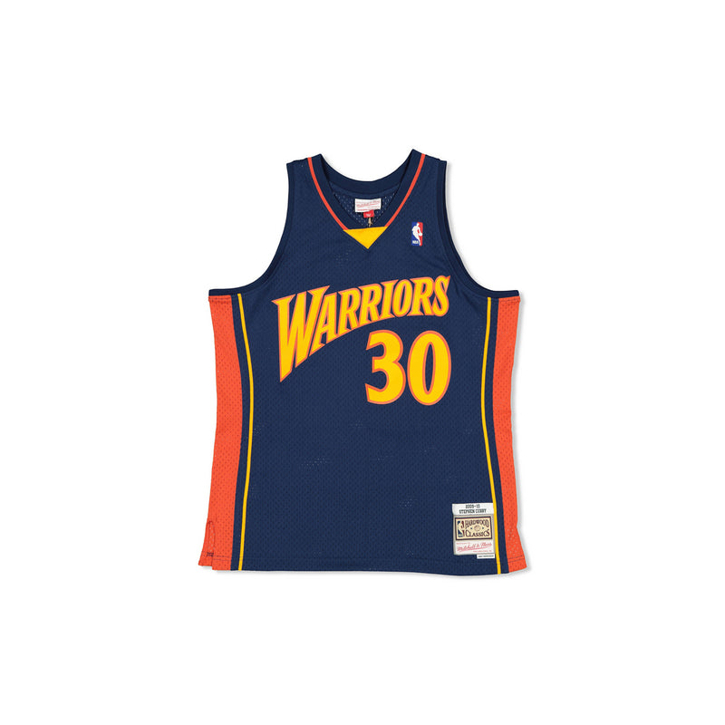 SWINGMAN JERSEY GOLDEN STATE WARRIORS CURRY - NAVY/ORANGE