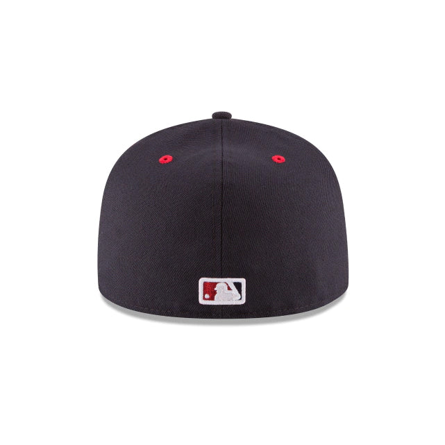 Washington Nationals Authentic Collection 59FIFTY Fitted - ALT Navy/Red