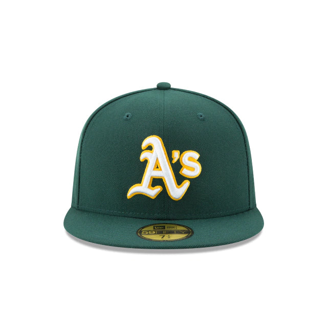Oakland Athletics Authentic Collection 59FIFTY Fitted - ALT Forest Green