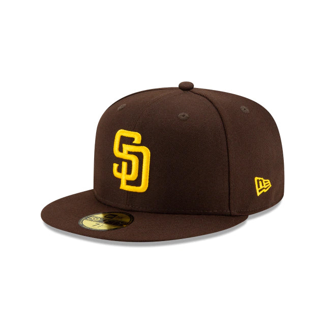San Diego Padres Authentic Collection 59FIFTY Fitted - ALT Brown