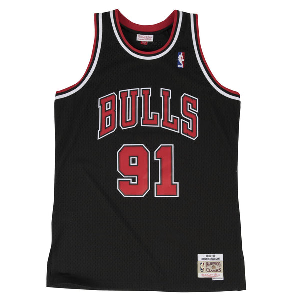SWINGMAN JERSEY CHICAGO BULLS RODMAN - BLACK