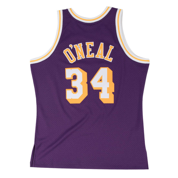 SWINGMAN JERSEY LOS ANGELES LAKERS SHAQ O'NEIL - PURPLE
