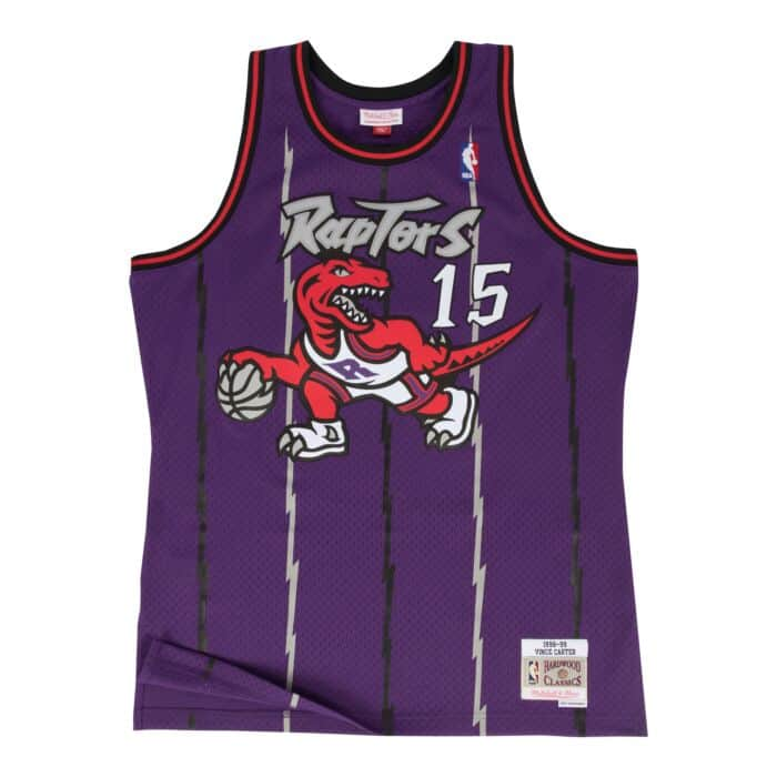 SWINGMAN JERSEY TORONTO RAPTORS CARTER - PURPLE