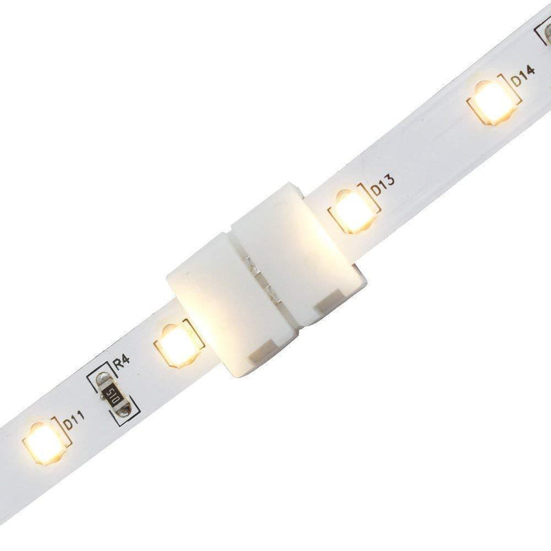 G.W.S LED Wholesale 2 Pin LED Single Colour Strip Light Straight Connector