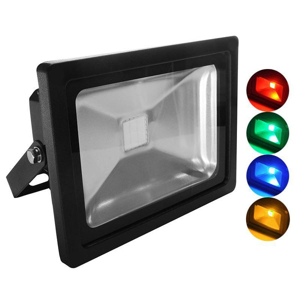 G.W.S LED Wholesale 20W Black Casing LED Coloured Flood Light