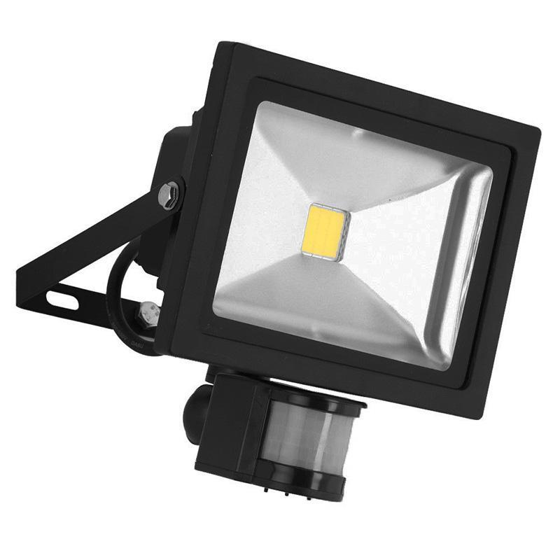 20W Black Casing LED PIR Flood Light