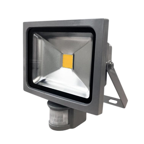 20W Silver Grey Casing LED PIR Flood Light