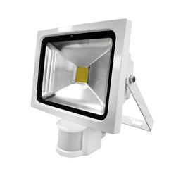 G.W.S LED Wholesale 20W White Casing LED PIR Flood Light